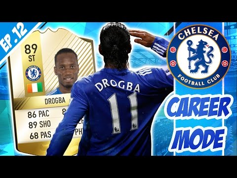 DROGBA GETS A LEGEND CARD! | FIFA 16 Chelsea Career Mode | Episode #12
