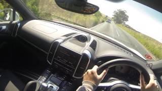 2017 Porsche Cayenne S e Hybrid POV Test Drive
