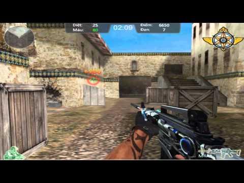 Hướng dẫn chơi game Đột kích 5 - CROSSFIRE M4A1 THUNDER GOD trên Game Vui