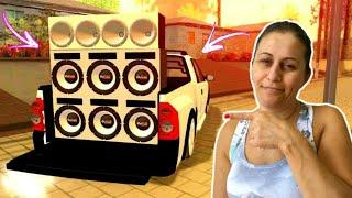 MINHA MÃE JOGANDO GTA BRASIL & INDO NOS FLUXOS ‹ Vlog ›