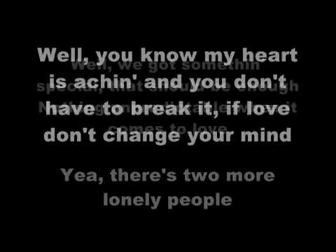 Miley Cyrus - Two More Lonely People (with Lyrics)