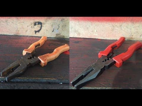 Восстановление пассатиж. Restoration Of The Pliers