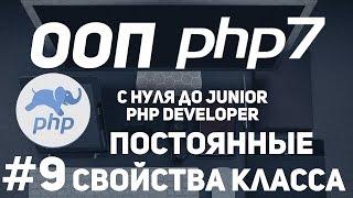 ООП для начинающих PHP. Константы класса.Постоянные свойства