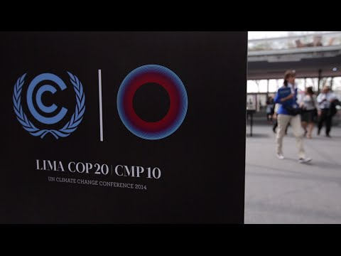 Video Diary of Day 1 at Lima COP20