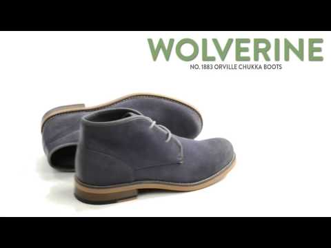 c9ae87bac86 Wolverine No. 1883 Orville Chukka Boots (For Men) - YouTube