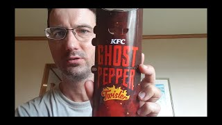 Trying out the KFC Ghost pepper twister