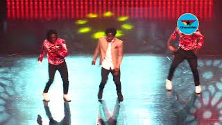 Fancy Gadam exhibits dance prowess as he performs at 2018 VGMAs