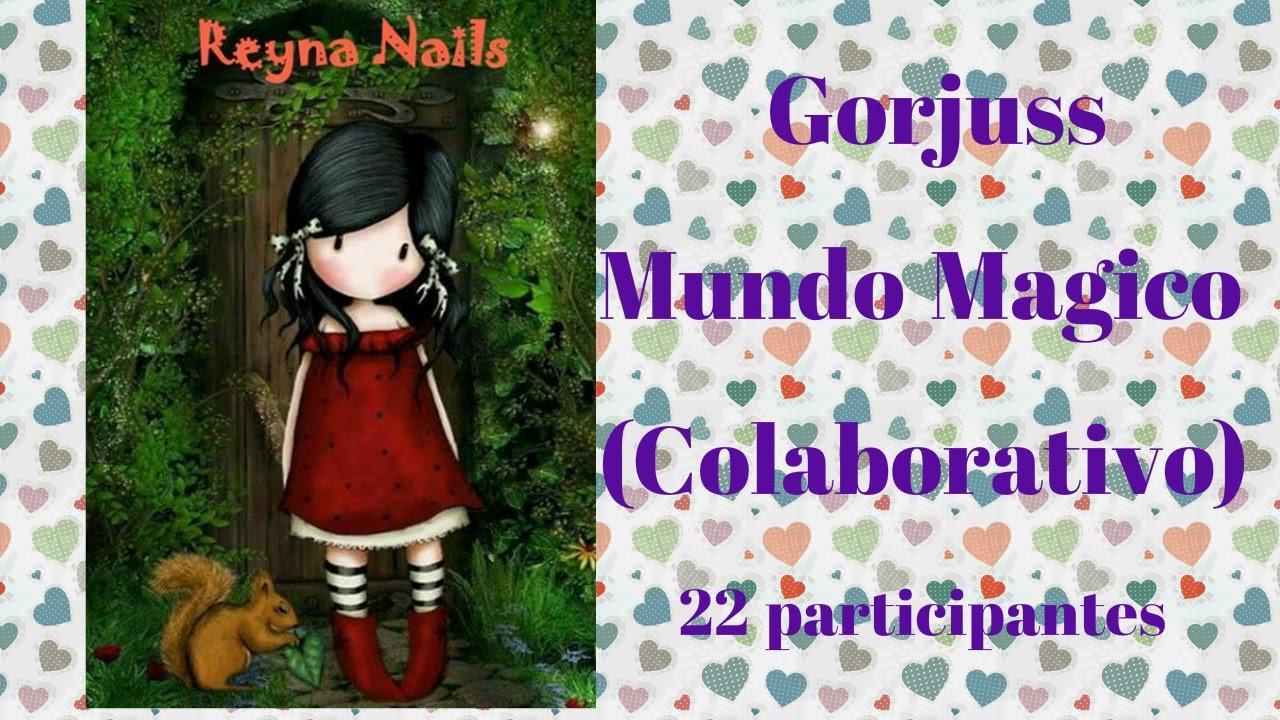 Gorjuss mundo mágico (colaborativo) muchas gracias chicas por la invitación 357a39f2858