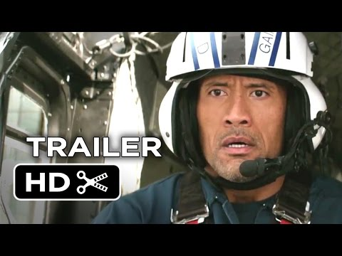 Search for San Andreas Official Trailer #1 (2015) - Dwayne Johnson Movie HD