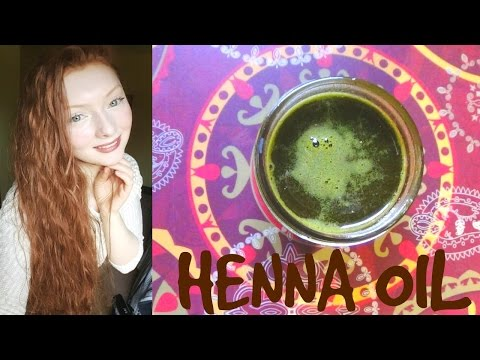 DIY Henna Oil: Fast Growth & Scalp Problems - 동영상