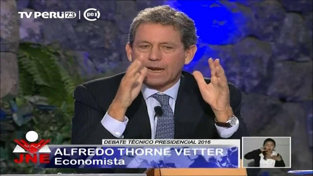 Debate técnico presidencial 2016: Bloque sobre Economía
