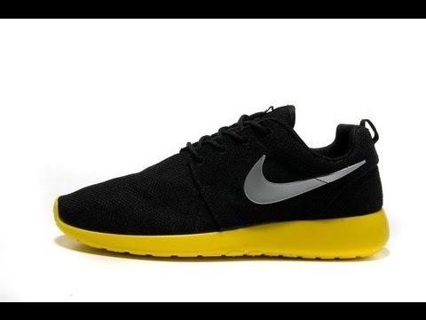 black and yellow roshe run