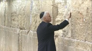 Pence continues Israel visit