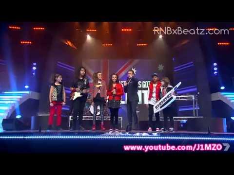 Larger Than Life - Australia's Got Talent 2012 Semi Final! - FULL