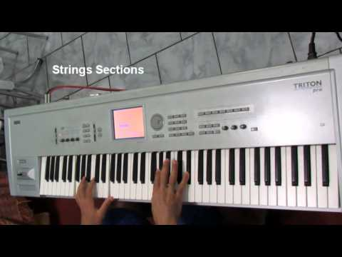 KORG Triton Pro  Customization Sidinholeal (without sample)
