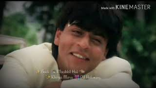 Badi Mushkil Hai WhatsApp status