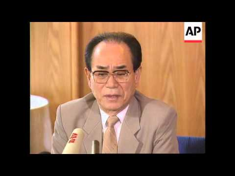 Germany - Kim Yong-nam On Nuclear Bomb North Korea