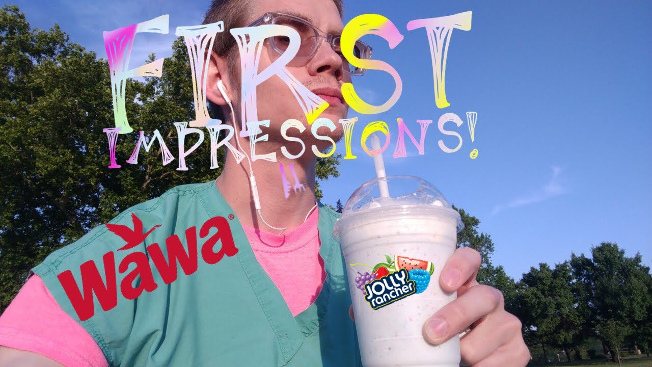 The Wawa Jolly Rancher Milkshake First Impression Youtube