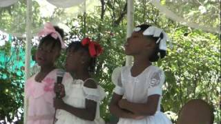 Haitian Girls Singing