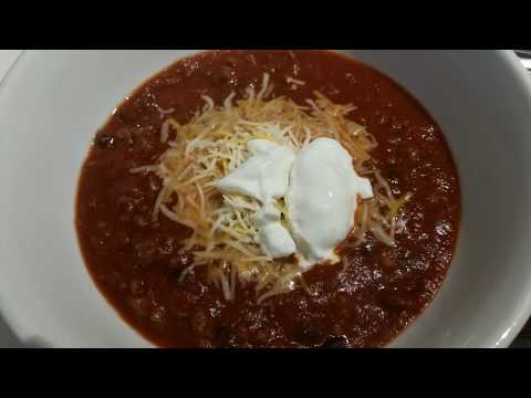 Instant Pot: Chili and Beans quick and easy