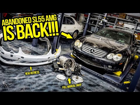 I ABANDONED My Mercedes SL55 AMG Project 2 Years Ago…NOW IT'S BACK!!! – Garage Update Episode 2