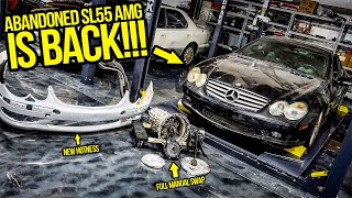 Download I ABANDONED My Mercedes SL55 AMG Project 2 Years Ago...NOW IT'S BACK!!! - Garage Update Episode 2 Mp3 and Videos