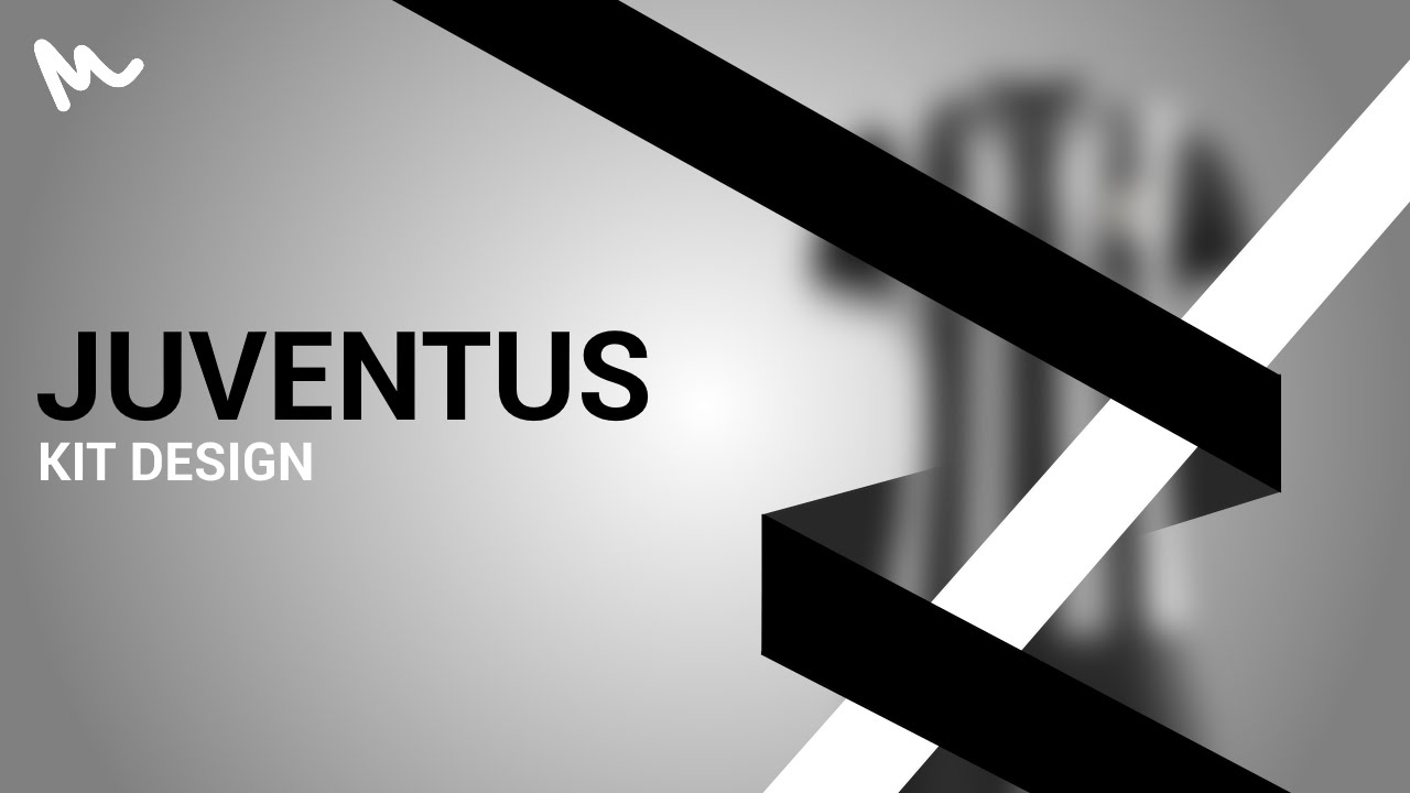 4b090c252 Juventus Kit Design    Speed Art - YouTube
