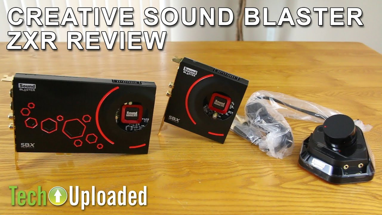 Creative Sound Blaster ZXR Review
