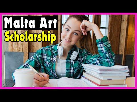 Government of Malta Art Scholarship 2021-2022 (Art Scholarship Without IELTS)