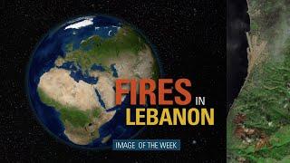 Fires in Lebanon