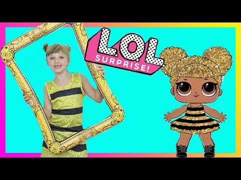 LOL Surprise Dolls in Real Life Makeover & Dress Up Play ! Fun Family Three Ava Isla and Olivia
