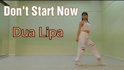 "Dua Lipa - Don't Start Now (mirrored dance cover) ""Yujin""🥰korean dancer"