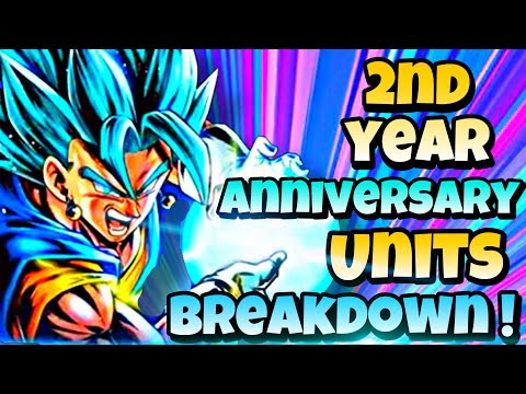🔥 2nd Year Anniversary Characters - BREAKDOWN Abilities AND TEAM BUILDING GUIDE! Dragon Ball Legends