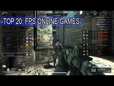 Top 20 First-person Shooter Multiplayer PC Game