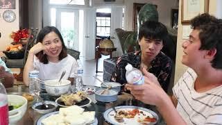 Vlog 228 ll Gia đình Việt Mỹ được tặng món quà bất ngờ , ăn tối cùng các tình yêu