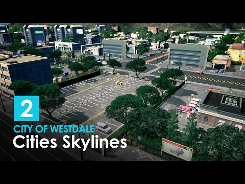 Cities Skylines: City of Westdale - EP 02 - Highway, School, Solar Powerplant