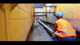 Bau einer neuen Stromtrasse