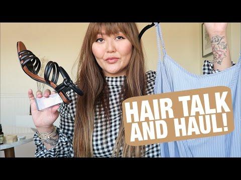 Hair Talk and Haul ft. Planet Blue, Zara and Faithfull the Brand