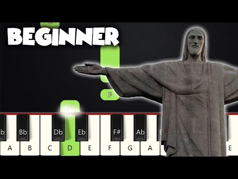 In Christ Alone | BEGINNER PIANO TUTORIAL + SHEET MUSIC by Betacustic