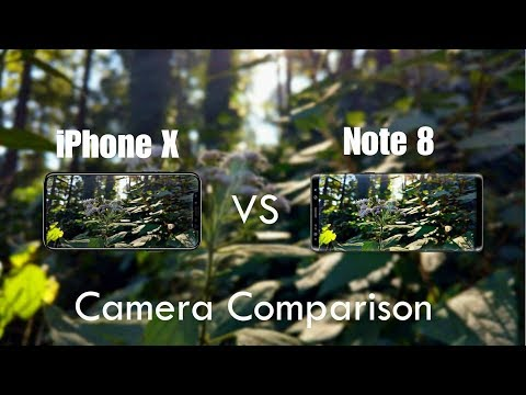 Download Youtube: iPhone X Vs Galaxy Note 8 Camera