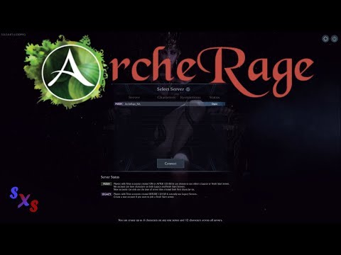 ArcheRAGE - Level 1-25 in an Hour!
