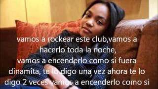 dynamite China Mcclain letra en español