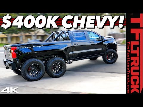 Here Is Why This Chevy Silverado 6x6 Is The Most Expensive Chevy Truck Ever!