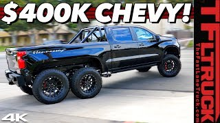 Screw You G Wagon 6X6! This Chevy Silverado is How We Roll in 'MERICA!