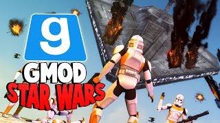 Gmod Star Wars RP - CRASHING THE NEW VENATOR