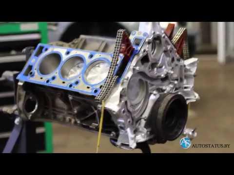 Сборка двигателя Мercedes м 272 (часть 1).