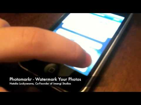 how to erase all photos on iphone watermark your iphone photos with photomarkr 20037