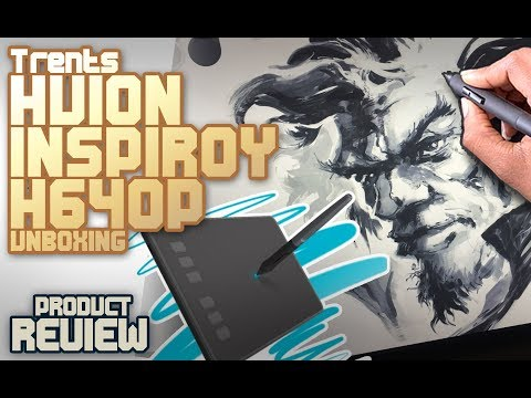Huion Inspiroy H640P Review & Buying Guide | Drawing Advisor