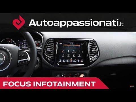"Uconnect 8,4"" Jeep Compass - Focus Infotainment"