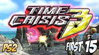 1st 15 Mins: Time Crisis 3 (PS2)